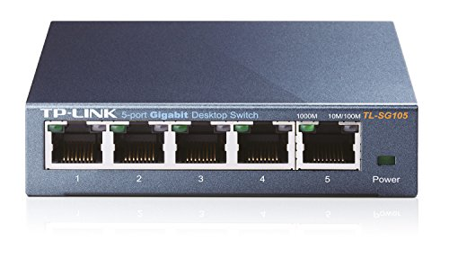 TP-Link TL-SG105 Switch Desktop 5 Porte RJ45...