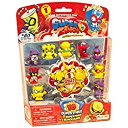 Superzings Rivals of Kaboom Blíster con 10 Figuras (Magic Box INT Toys SZ1P1300)