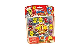 SuperZings- Rivals of Kaboom Blíster con 10 Figuras, Color Azul (Magic Box INT Toys SZ1P1300)