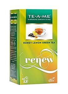 TE-A-ME Honey Lemon Green Tea Bags (Pack of 25)