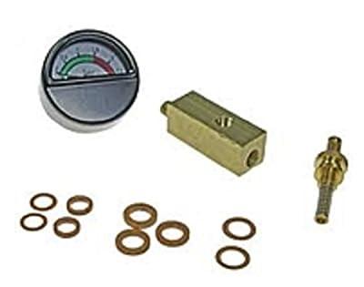 01936 - Wilesco ET - Manometersockel MS, 12 x 12 mm Gewindestutzen M6 x 0,75, Federsiche von Wilesco