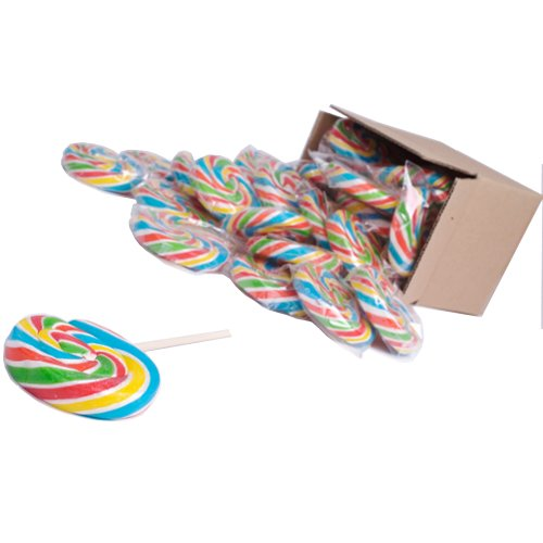 LOLLIPOPS Di Turbinio – 0732/2.5 arcobaleno Pops-63mm Lollipop Pacchetto Di Turbolenza di 50