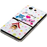 deinPhone Sony Xperia Z3 Compact SILIKON CASE Hülle Eulen Happy Family