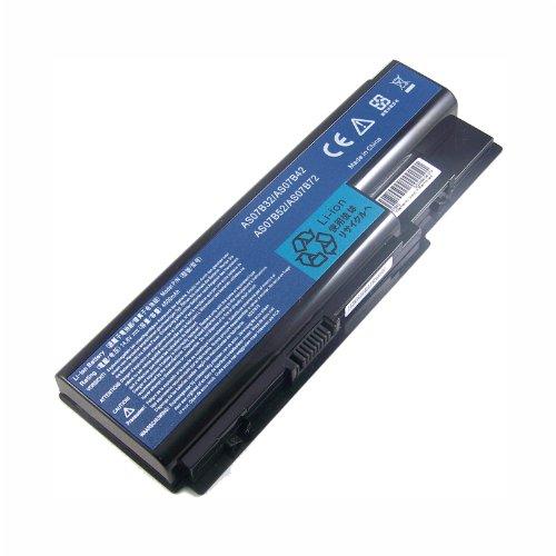 Bouyi - AAA Ersetzen Notebook Laptop Akku AS07B42 AS07B52 AS07B72 AS07B32 Akku für Acer Aspire 5940G 5942G 8930G 8935G 8940G AS07B42 ,14.8V 8 Zellen 4800mAh