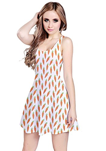 CowCow - Robe - Femme Colorful Pizza White Carrots