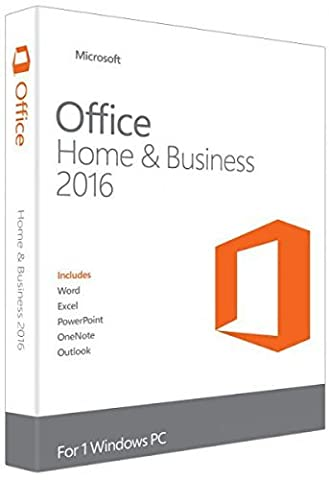 Microsoft Office Home & Business 2016 für 1 PC -