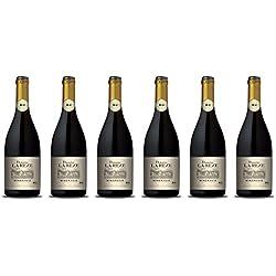 DOMAINE LA REZE BIO AOP Minervois Vin Rouge 0.75 L - Lot de 6