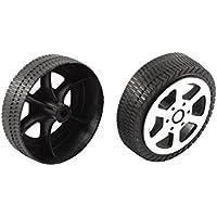 PowerLead 1601015 ruedas de repuesto de PVC para el coche de carreras de control remoto RC 1: 18