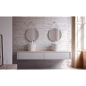 Lavabo bathco sobre encimera Florencia B 420 x 350 mm