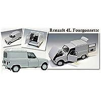 Ebbro 500025003- Fourgonnette Renault 4, ...