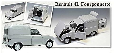 Renault 1 18 - Ebbro 500025003–1: 24Renault 4Fourgon