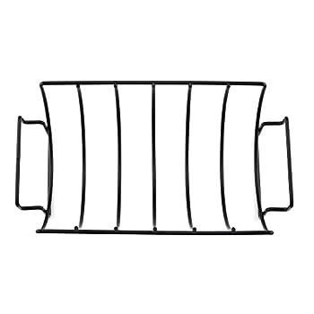 Lembeauty Antihaft-grill Rib Rack Wendbar Braten Net Steak Rack Für Holzkohlegrills Raucheron Top Of Gas Grillen 2