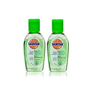2x Sagrotan Healthy Touch Hand Desinfektion mit Aloe Vera 50 ml