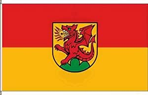 Königsbanner Hissflagge Drackenstein - 80 x 120cm - Flagge und Fahne