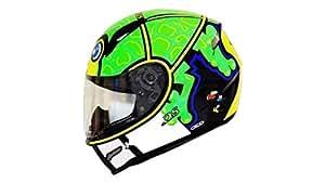 Kranos Frog Full Face Helmet (M, Green)
