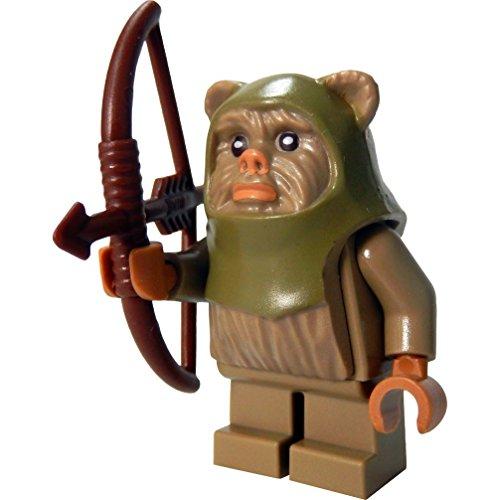 LEGO Star Wars Minifigur Ewok Warrior / Ewok Krieger mit Bogen (Ewok Minifiguren Lego)
