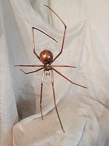 Spinne aus Kupfer