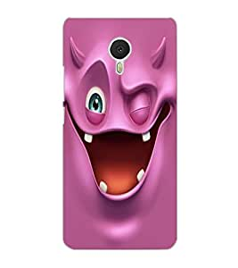 MEIZU M3 NOTE SMILE Back Cover by PRINTSWAG