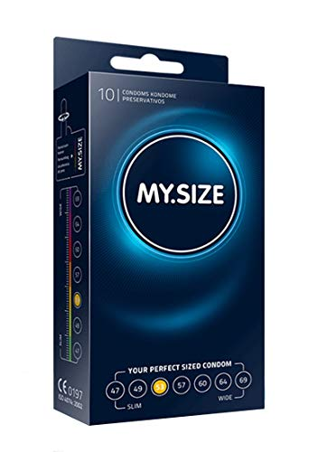 My.Size Kondome Größe 3, 53mm, Standardpackung (10 Stück)