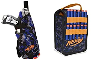 Nerf Ammo Pouch And Hip Holster Kit