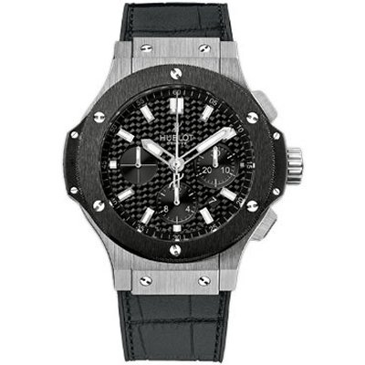 Hublot Big Bang Evolution Black Carbon Fiber Dial Automatic Chronograph Mens Watch 301.SM.1770.GR