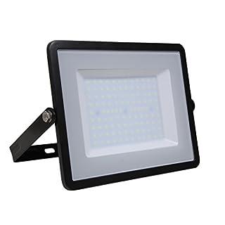 V-TAC LED-FL100-B-N-SMD-SA LED Fluter Strahler Scheinwerfer 100W Naturweiß IP65 SKU 413, 8000lm, Samsung Chip