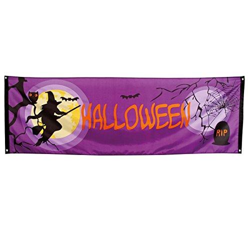220 cm Halloween-Banner, Dekoration für Spukpartys, Vollmond, -