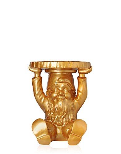 Kartell 883195 Gartenzwerg-Hocker Gnome Attila, gold