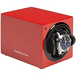 Barrington Single Watch Winder - Crimson Red
