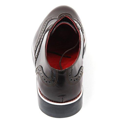 C3736 scarpa inglese uomo GOLD BROTHERS marrone shoe man Marrone