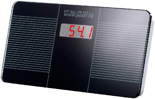 PEARL Reisewaage: Digitale Reise-Personenwaage, ultrakompakt, 446 g leicht, LED-Anzeige (Mini Personenwaage)