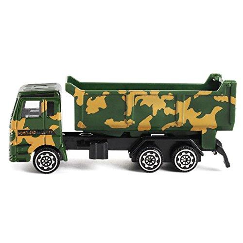 friendGG❤️❤️Kinder Spielzeug, Lernspielzeug,Junge Spielzeug ,Mädchen Spielzeug,Engineering Toy Mining Auto Truck Kindergeburtstagsgeschenk Military Fighter Truck Spielzeug (C)