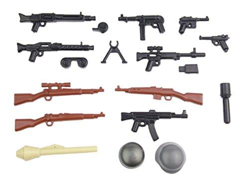 BrickArms Alemán Set de Armas V2