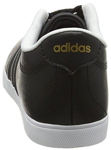 adidas Courtset, Baskets Basses Femme Noir (core Black/core Black /matte Gold)
