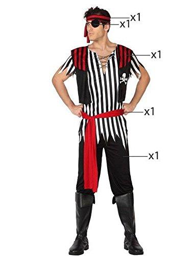 Angel Tomas S.A. Costume da pirata, per uomo