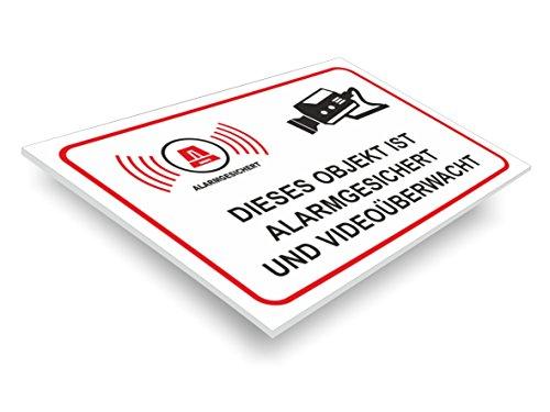 Achtung Videoüberwachung Schild Achtung Warnzeichen