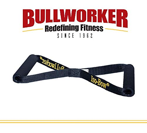 Iso-Bow von Bullworker: Tragbare reisende isometrische Übungsausrüstung; Home Fitness-Trainingsgeräte für schnelle Stärke und Flexibilität, Stretching-Tool für Yoga und Pilates (nicht dehnen)