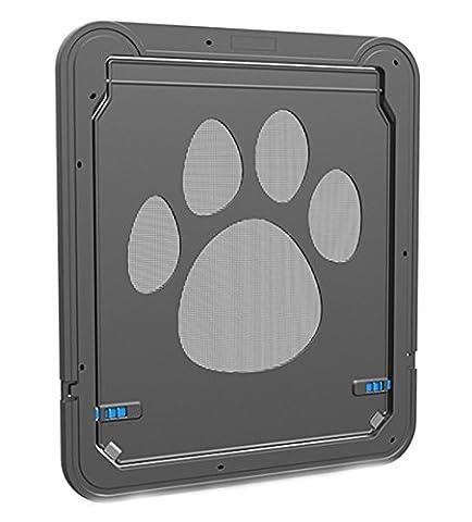Pet Bildschirm Tür, magnetisch Automatische Lock/verschließbar Hund Tür