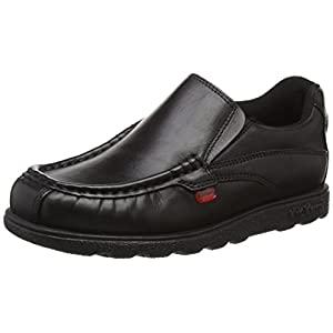 Kickers Fragma Slip, Mocasines para Chico, Negro