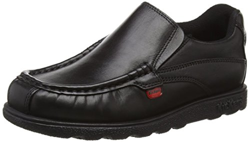 Kickers Juniors Fragma Slip Loafers - Black, 4 UK (37 EU)