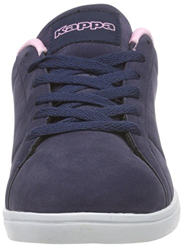 Kappa Tasu Footwear Women, Synthetic, Low-Top Sneaker femme bleu (6721 navy/rosé)