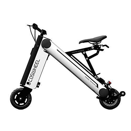 Xiaomu COSWHEEL A-One 350W Bicicletta elettrica Intelligente, 1 Secondo Pieghevole, Ruote Portatili da 8 Pollici, connessione Bluetooth,Silver