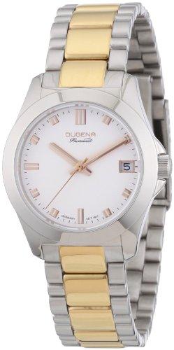 Dugena Women's Quartz Watch with Silver XS Premium Stainless Steel Analog Quartz 7000128
