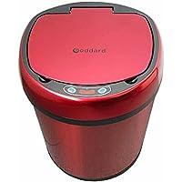 Inteligente Trash Kitchen Sensor De Infrarrojos Inteligente Automático Trashhome Living Room Baño Interior Con Cubierta,Red,S