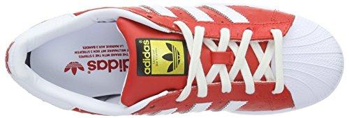 adidas Superstar Animal, Scarpe da Skateboard Uomo Rot