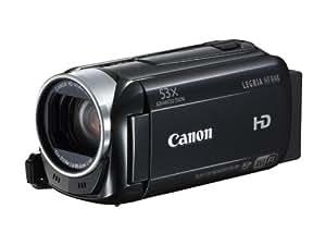 Canon Legria HF R48 Full-HD Camcorder (3,2 Megapixel, 32-fach opt. Zoom, 7,5 cm (3 Zoll) Touchscreen, 32GB Flash Speicher, bildstabilisiert, USB) schwarz