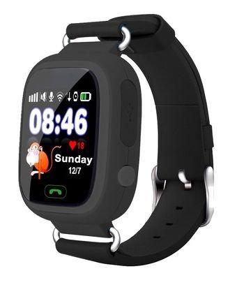 """VIDIMENSIO® GPS-Telefon Uhr """"Kleiner Affe - schwarz (Wifi)"""" für Kinder"""