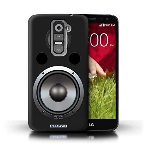 Kobalt® Imprimé Etui / Coque pour LG G2 Mini/D620 / Autoradio conception / Série Haut-Parleur dessin Hifi
