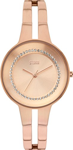 Ladies STORM Rizzy Crystal Watch RIZZY-CRYSTAL-ROSE-GOLD