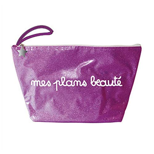Artgoodies - Trousse de Toilette Violette Mes Plans Beauté